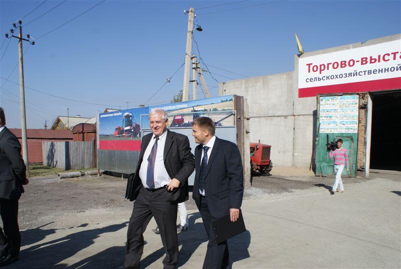 Открытие торгово-выставочного зала в г.Татарск