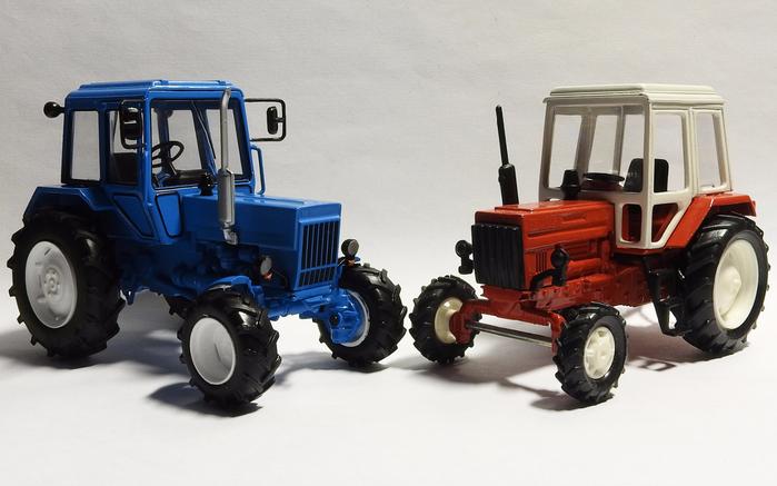 Трактор модели МТЗ 82