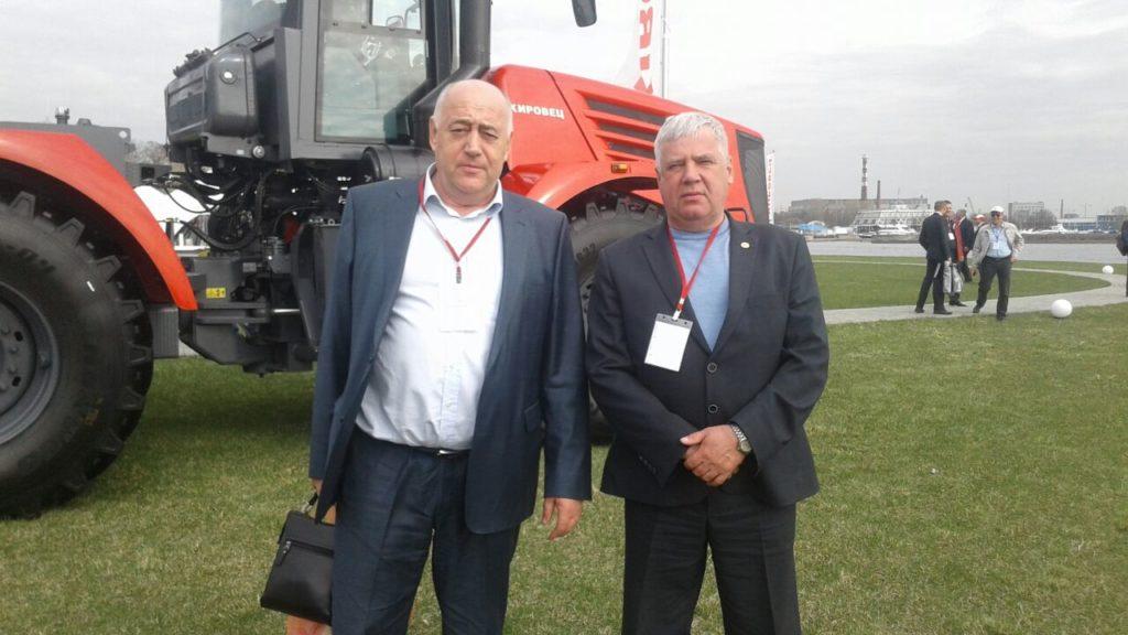 """55 лет трактору """"КИРОВЕЦ"""""""