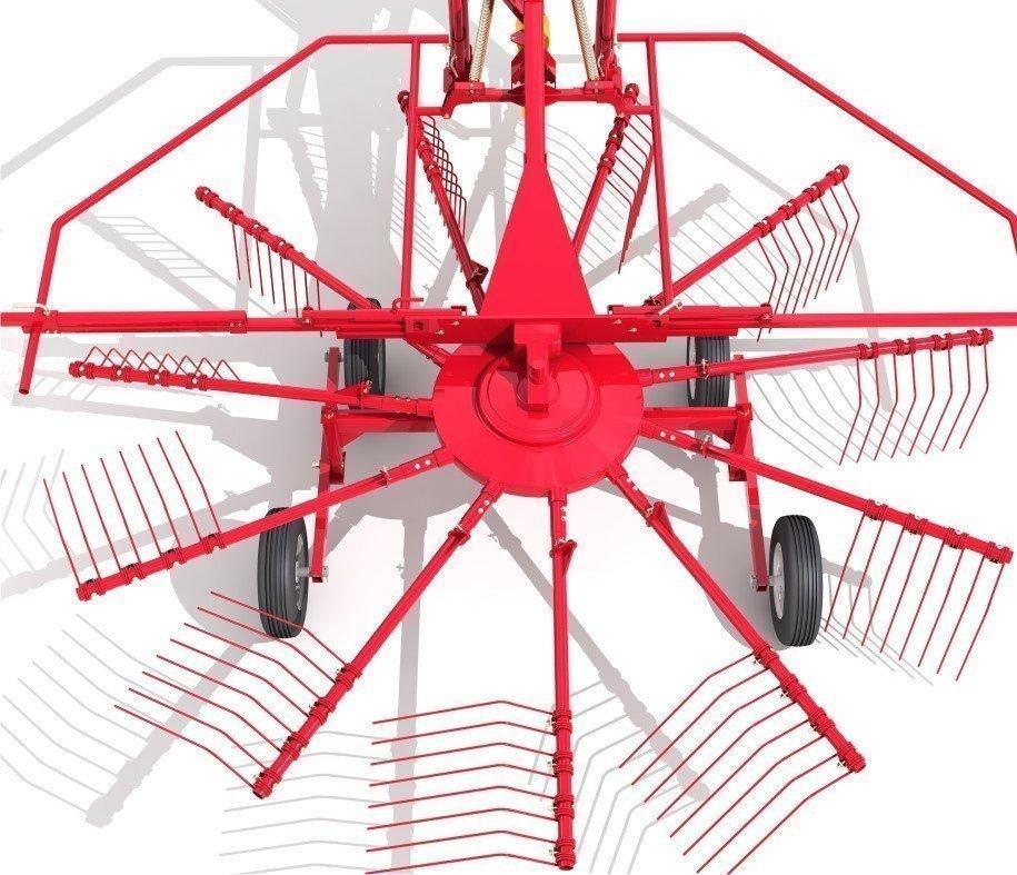 Современное оборудование: грабли роторные