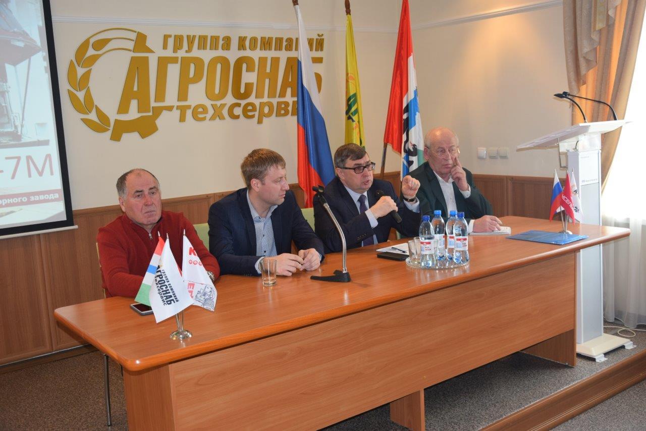 Новые тракторы КИРОВЕЦ уже в Новосибирске!