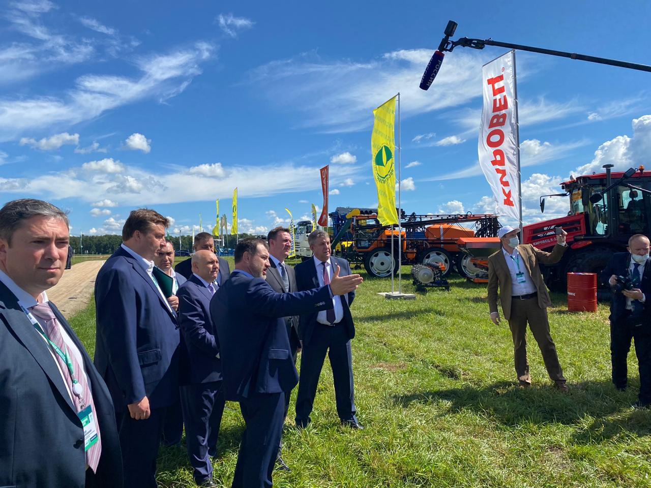КИРОВЕЦ выступил официальным партнёром Всероссийского дня поля