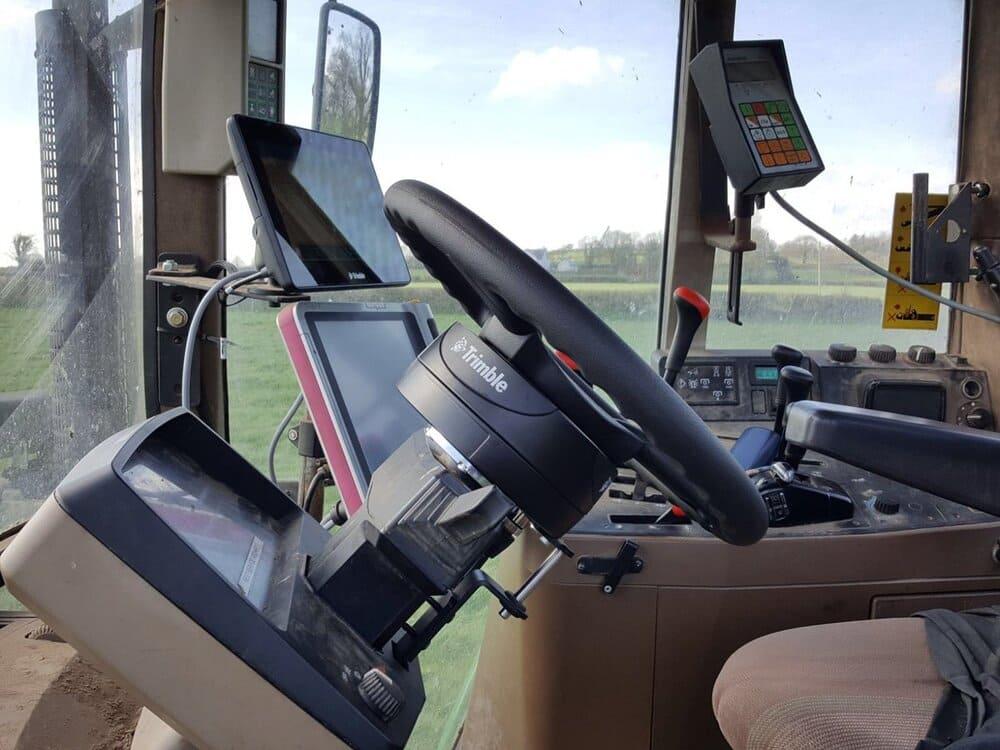 Гидравлический автопилот на трактор